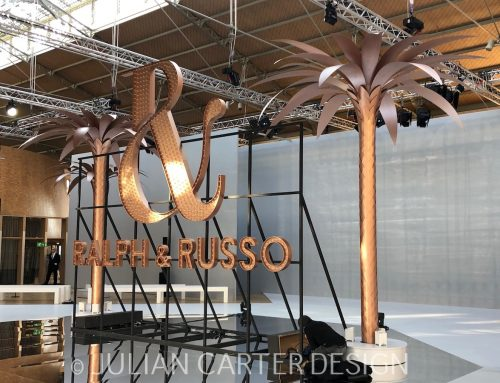 Ralph & Russo Steel and Aluminium Palm Trees