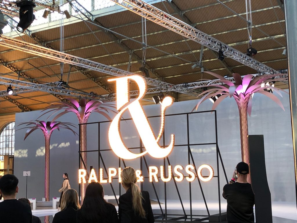Ralph & Russo. Dress rehearsal. Carreau Du Temple, Paris.