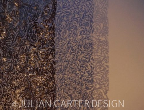 Textile Inspired Hanging Screen