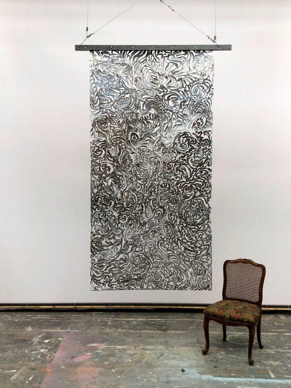Julian Carter Design 8' x 4' steel screen.