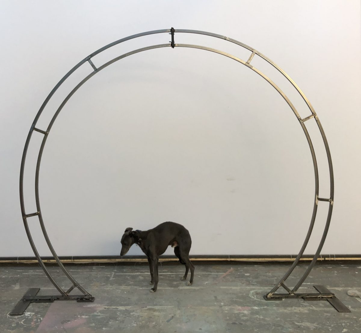 Julian Carter Design. 8' circular arch