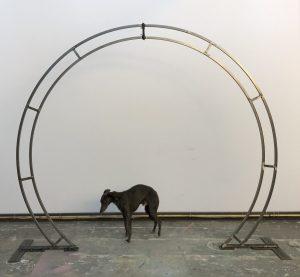 Julian Carter Design. 2.4 metre circular arch