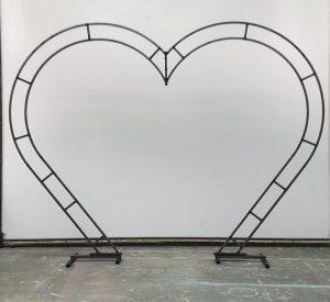 Julian Carter Design. 8' heart arch
