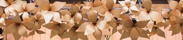 Julian Carter Design Pandora Aluminium Flowers - detail