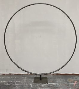 Julian Carter Design. 2 metre single ring on adjustable legs