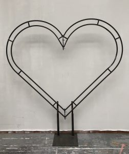 Julian Carter Design 2.4 metre Heart