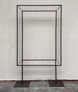 Julian Carter Design. 2 metre picture frame on adjustable legs