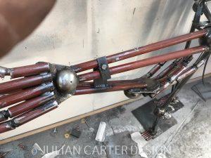 Julian Carter Design. The skeleton hands.